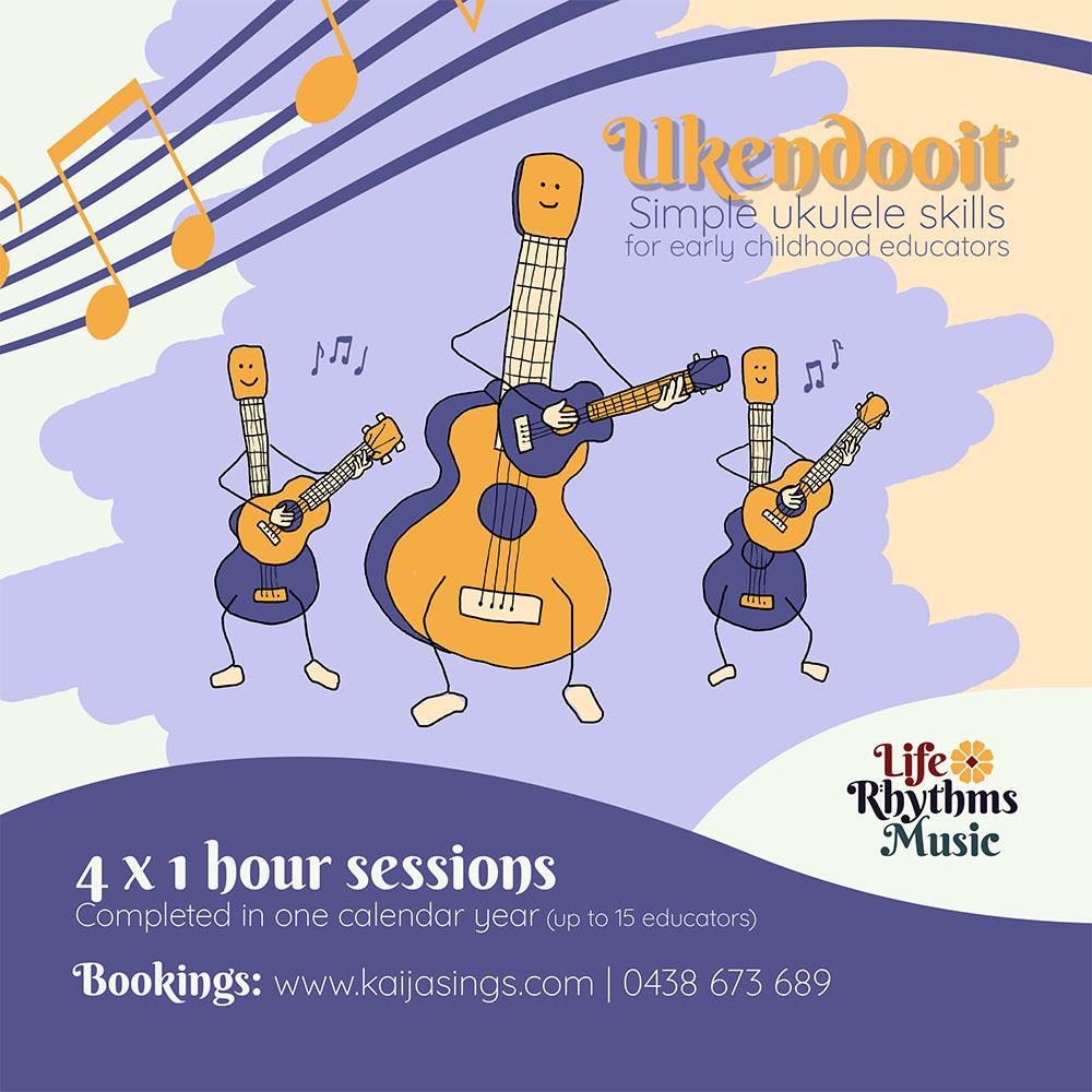 Life Rhythms Music, Workshop. Ukendooit